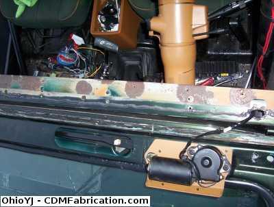 Cowl Seal Replacement Quadratec Jeep Forum