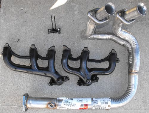 how to fix big hole in exhaust pipe
