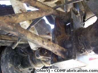 Anti Wrap Bar Axle Attachment